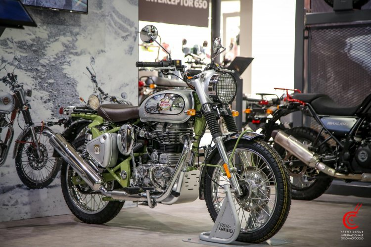 Royal Enfield Bullet Trials Work Replica Front Thr