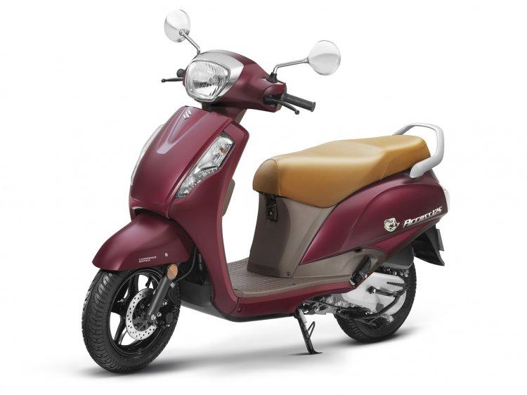 Suzuki Access125 Se Metallic Matte Bordeaux Left S
