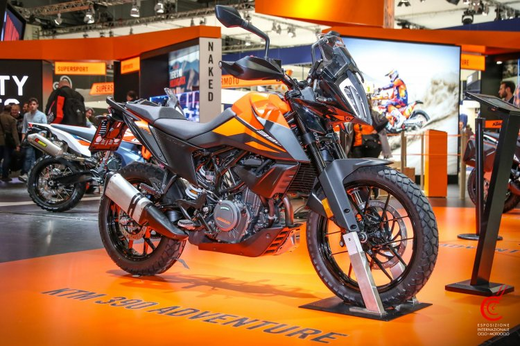 Ktm 390 Adventure Front Three Quarter