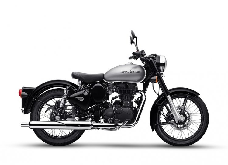 Royal Enfield Classic 350 Mercury Silver Right Sid