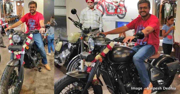 Jawa Perak Test Rides Mumbai