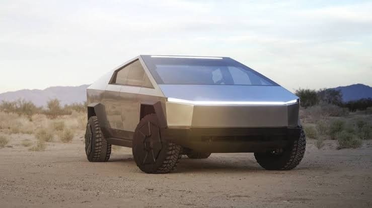 Tesla Cybertruck Revealed 5