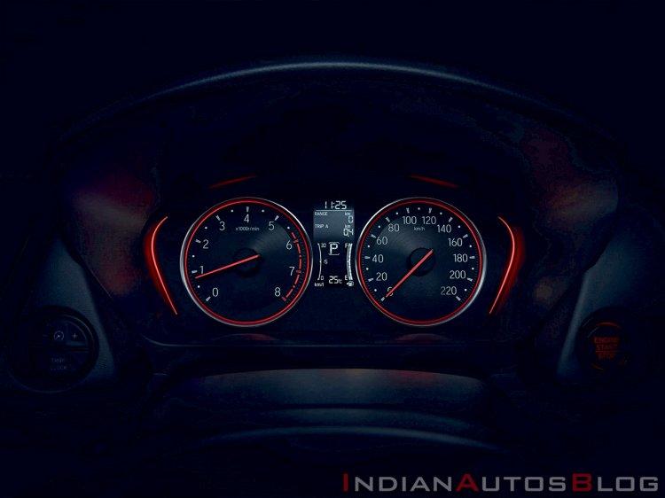 2020 Honda City Interiors Metre Console