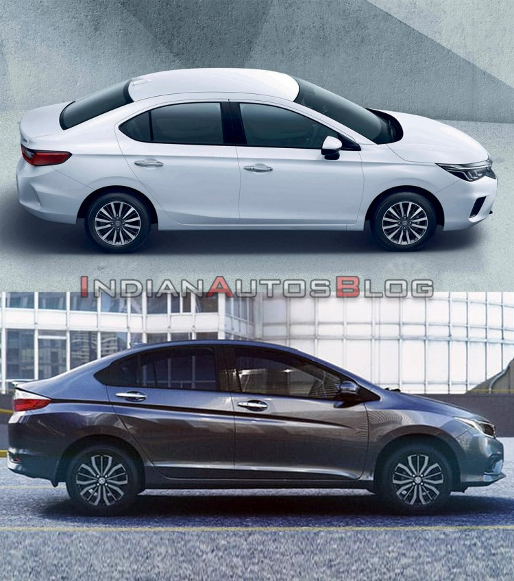 2020 Honda City Vs 2017 Honda City Exterior 1