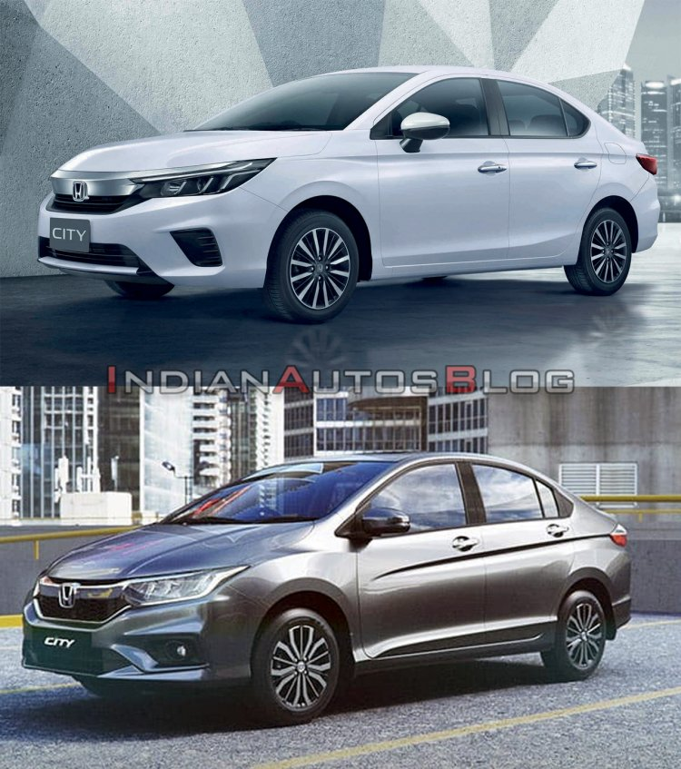 2020 Honda City Vs 2017 Honda City Exterior 2