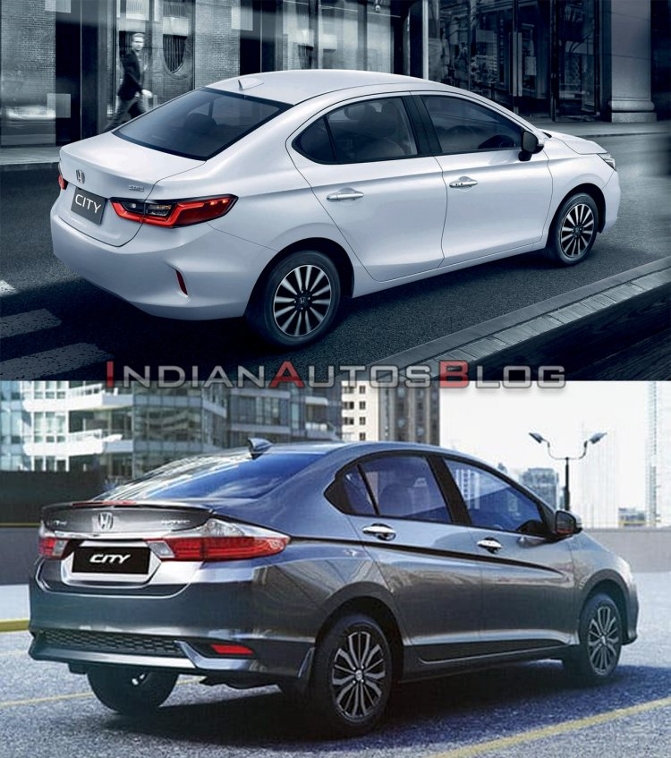 2020 Honda City Vs 2017 Honda City Exterior 3