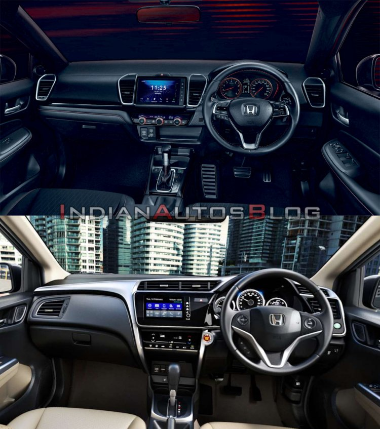2020 Honda City Vs 2017 Honda City Interior 3