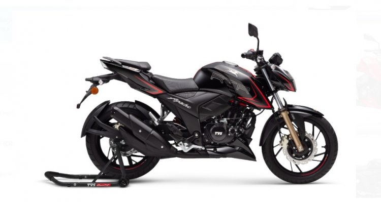 Tvs Apache Rtr 200 4v Bs Vi Side Profile