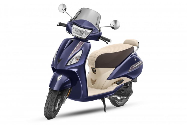 Tvs Jupiter Bs Vi Front Three Quarter