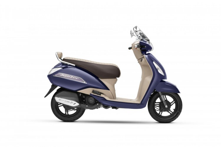Tvs Jupiter Bs Vi Side Profile