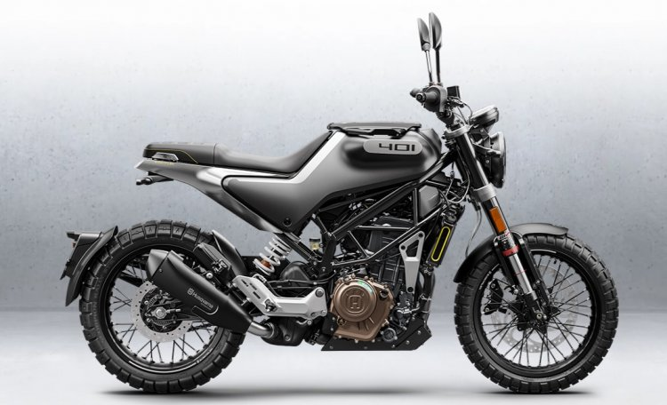 2020 Husqvarna Svartpilen 401 Side Profile
