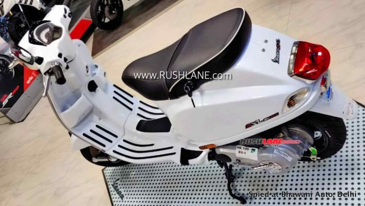 2020 Vespa Sxl150 Bs Vi Left Rear Quarter