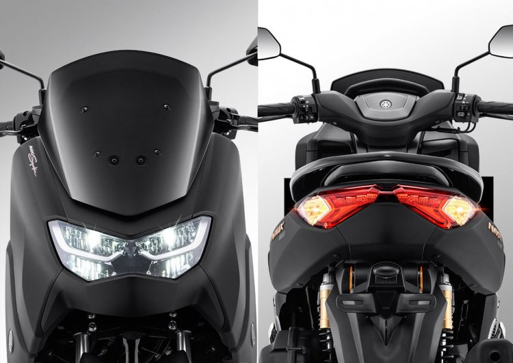 2020 Yamaha Nmax 155 Headlight And Taillight