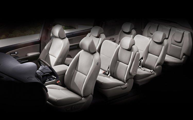 2018 Kia Carnival Facelift Seats