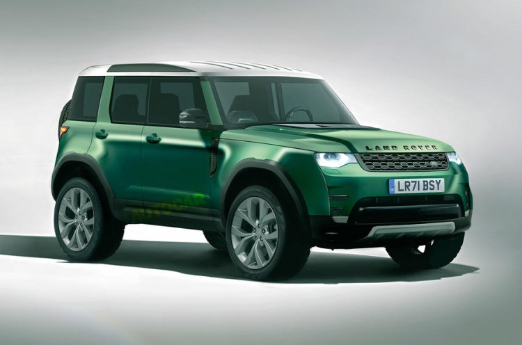 Land Rover L860 Rendering