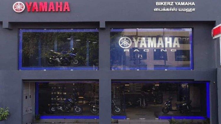 Bikerz Yamaha Blue Square Chennai 12