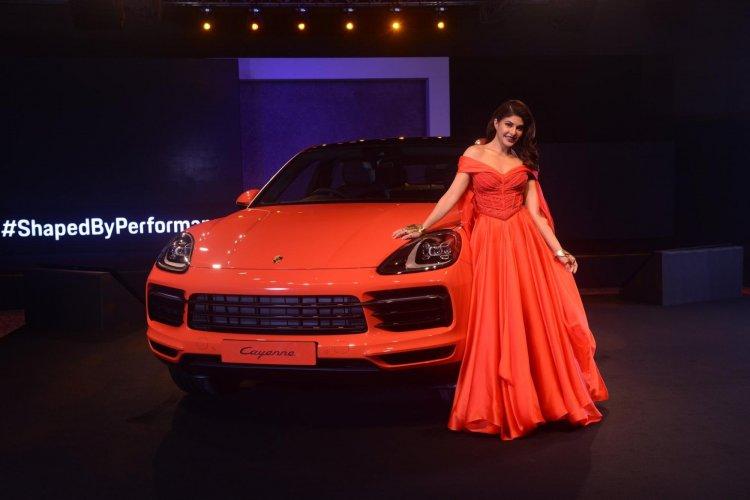 Porsche Cayenne Coupe And Jacqueline Fernandez