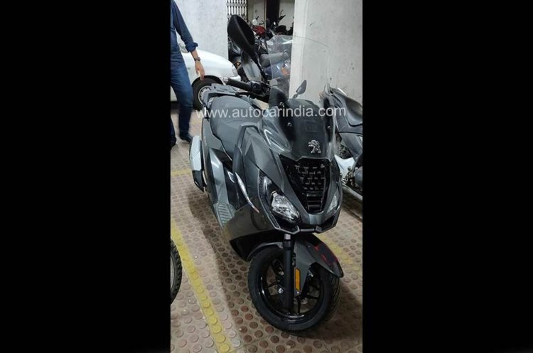 Peugeot Pulsion Spied In India Front