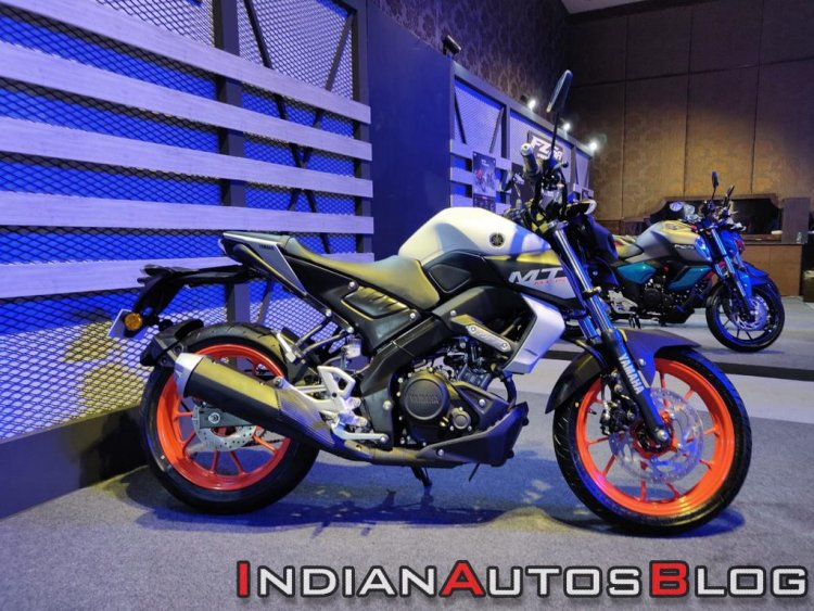 Bs Vi Yamaha Mt 15 Side Profile