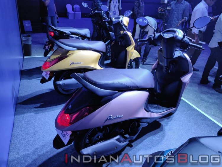 Yamaha Fascino 125 Fi Bs Vi Rear Three Quarter