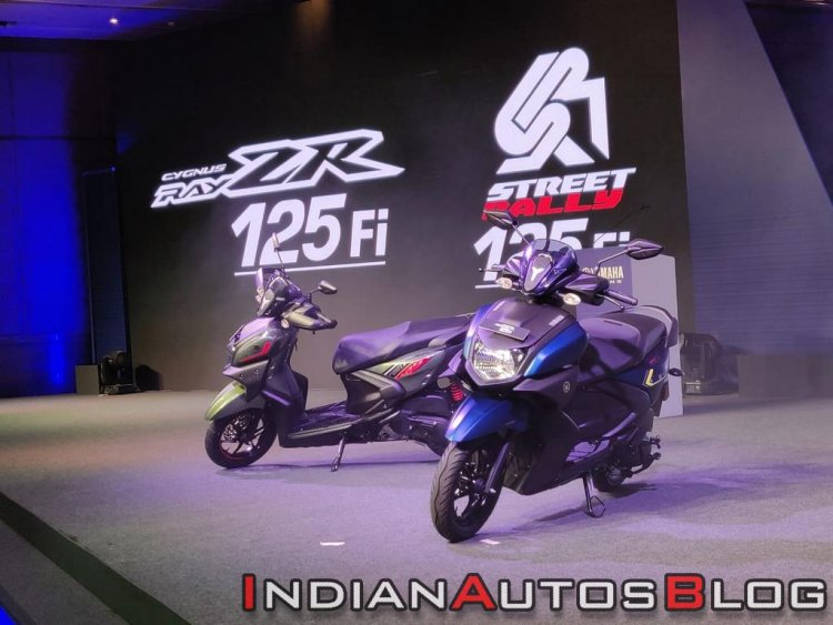 Yamaha Ray Zr 125 Fi Cover