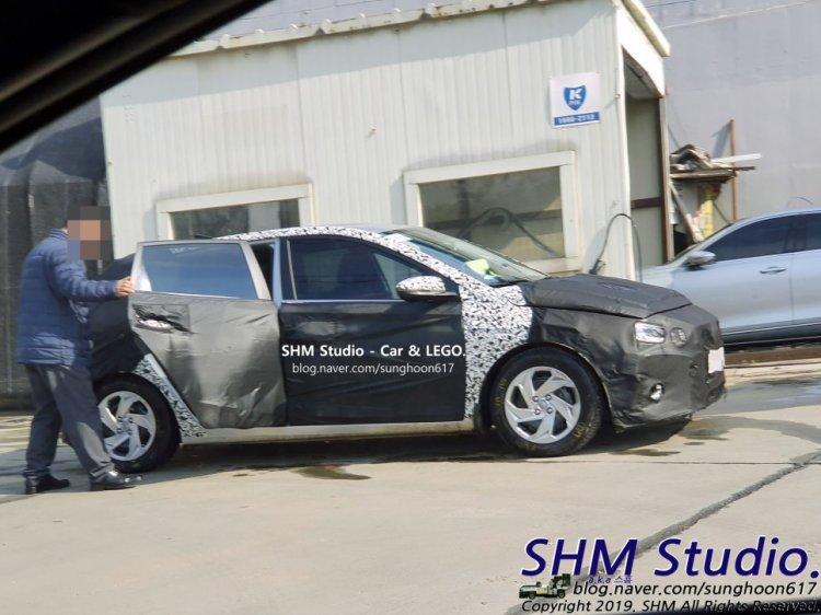 2020 Hyundai I20 Side Profile Wheel Covers Spied