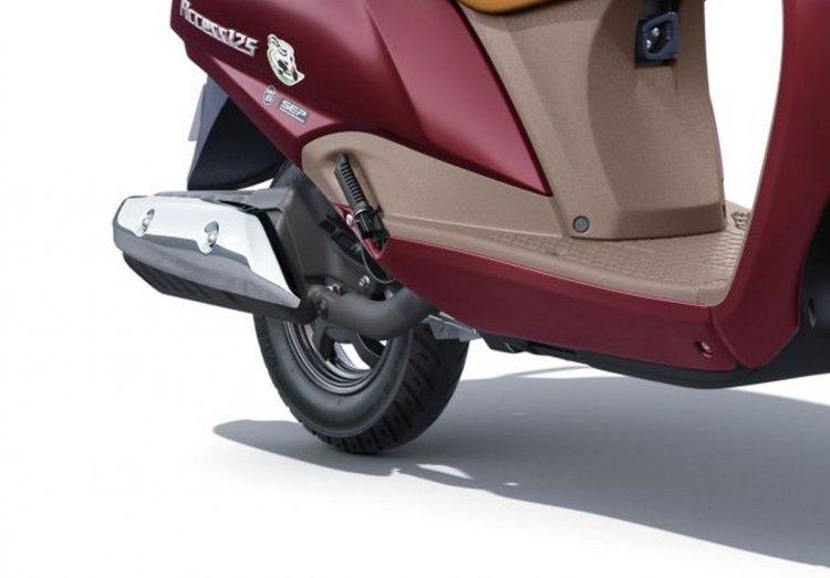 New Suzuki Access 125 Bs6 Unveiled Exhaust