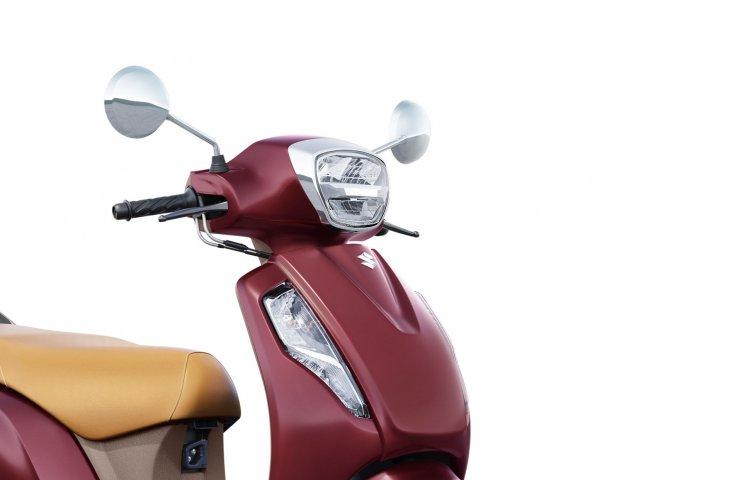 New Suzuki Access 125 Bs6 Unveiled Headlight