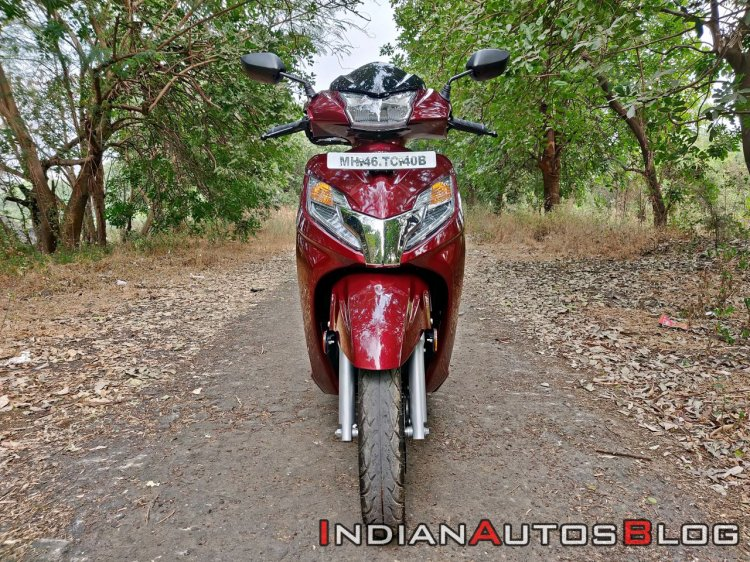 Bs Vi Honda Activa 125 Review Still Shots Front