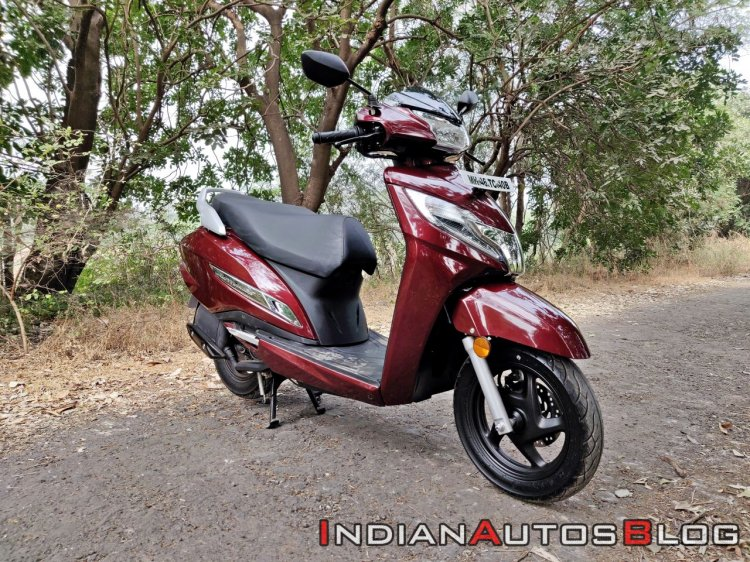 Bs Vi Honda Activa 125 Review Still Shots Right Fr
