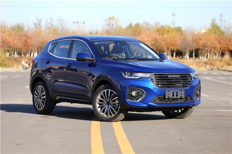 Haval H4 Front Three Quarters Right Side