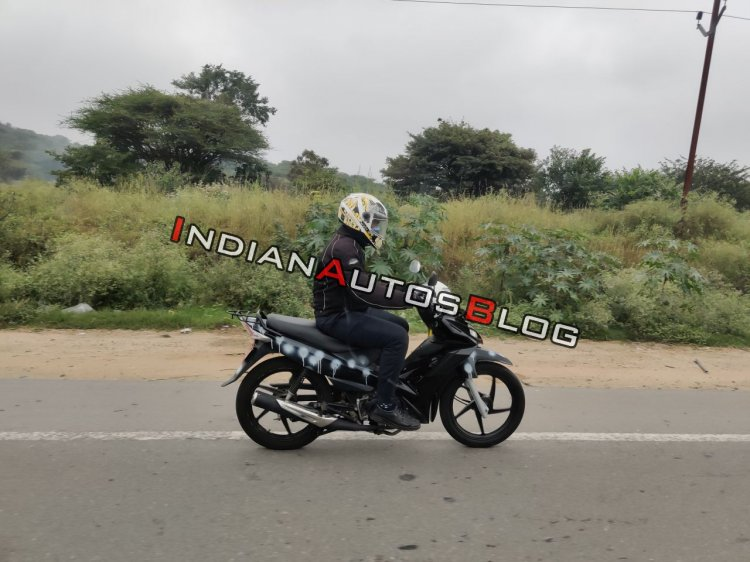 Tvs Rockz 125 Spied In India Right