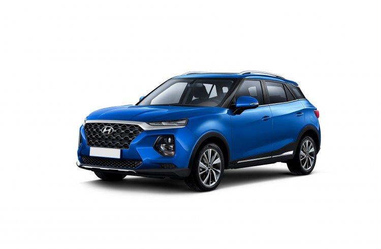 Brazilian Spec 2021 Hyundai Creta Rendering