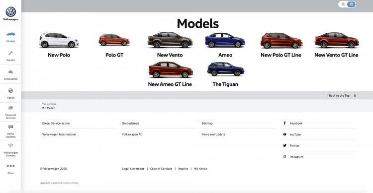 Volkswagen India Llne Up