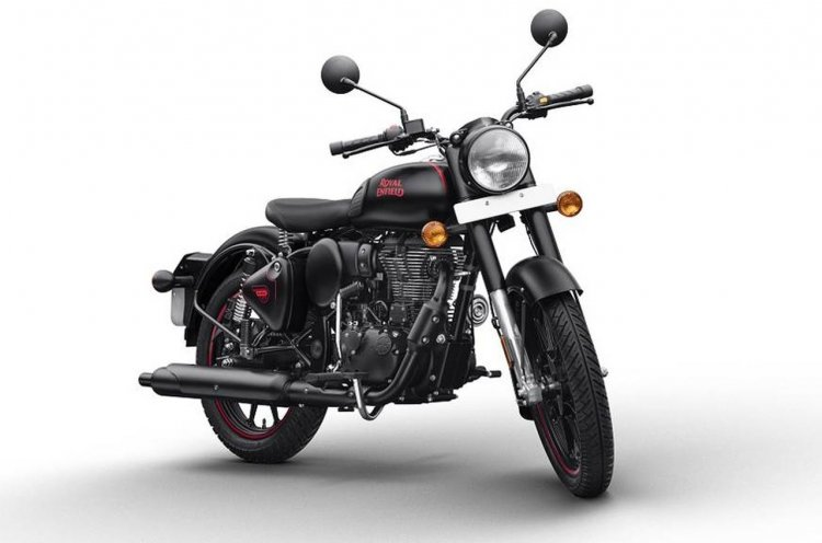 Royal Enfield Bullet Black Colour Side Stand