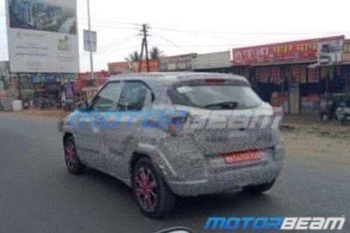 2020 Tata H2x Hornbill Spied Auto Expo 1 696x463