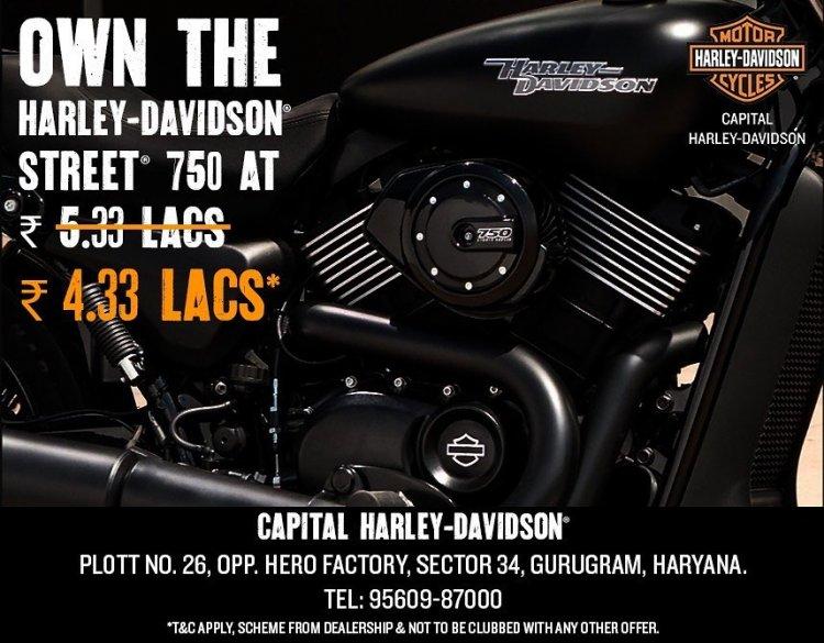 Harley Davidson Street 750 Discount 1670