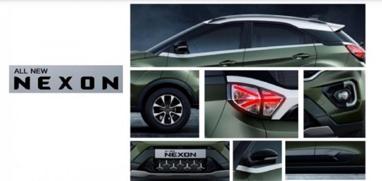 2020 Tata Nexon Exterior And Interiors C383 Copy