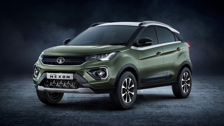 2020 Tata Nexon Facelift Front Three Quarters Exte