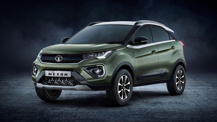 2020 Tata Nexon Facelift Front Three Quarters Exte
