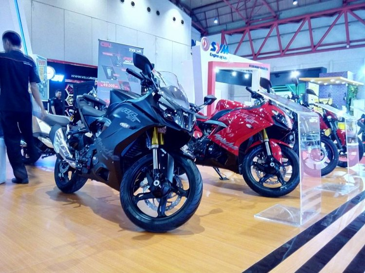 Tvs Apache Rr 310 Indonesia Front Three Quarters 1