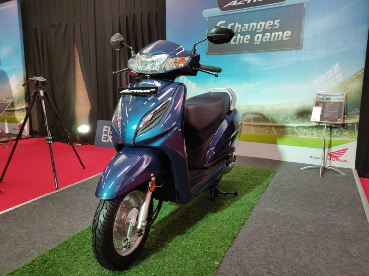 Honda Activa 6g Front Three Quarter Left