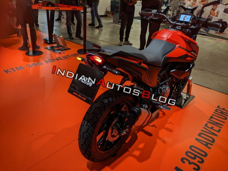 Ktm 390 Adventure Eicma 2019 Right Rear Quarter 09