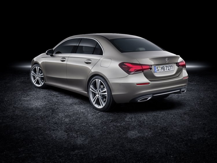 Mercedes A Class Sedan Rear Three Quarters Da7f