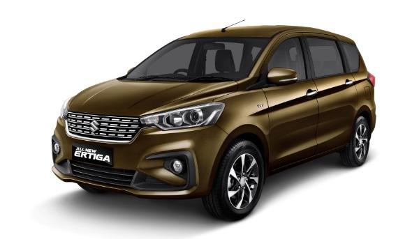 Suzuki Ertiga Front Quarters