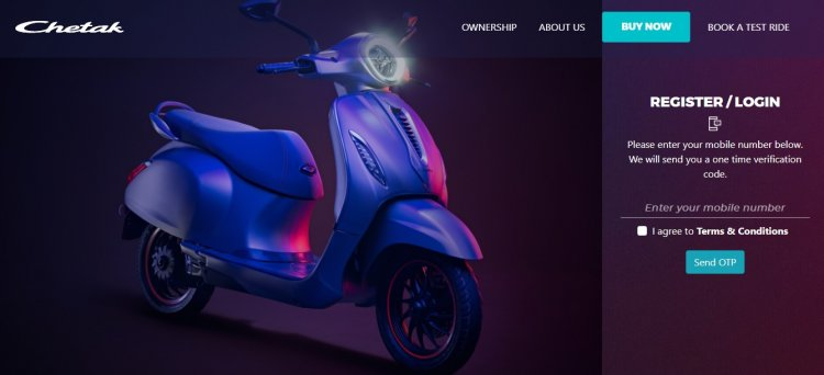 Bajaj Chetak Bookings Open Featured Image