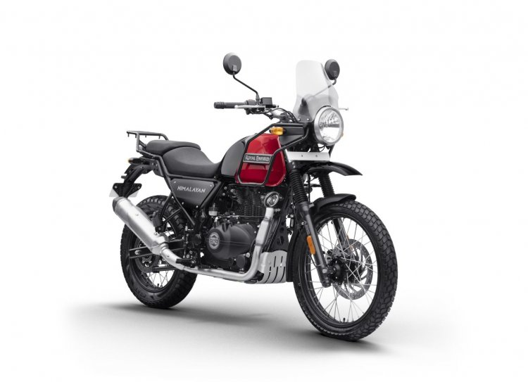 Bs Vi Royal Enfield Himalayan Rock Red