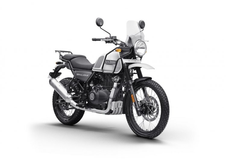 Bs Vi Royal Enfield Himalayan Snow White