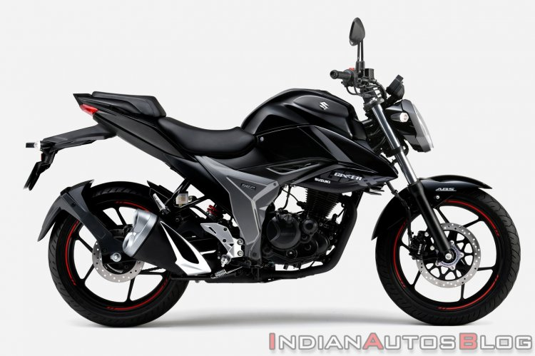 Japanese Spec Suzuki Gixxer 150 Black Right Side