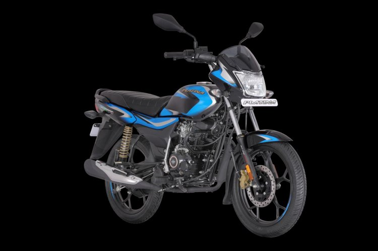 Bs Vi Bajaj Platina 110 H Gear Right Front Quarter